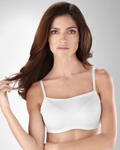 White Oh My Gorgeous Smooth Camisole Bra by Soma Intimates in Fall 2012 from Soma Intimates