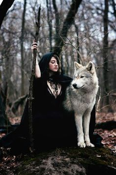 Save Gray Wolf, buy quality products and provide wolf sanctuary! - 💃🏻Wolves and Women Pictures?🐺 to explore awesome wolves design - Fantasy Wolf, Dark Fantasy, Fantasy Photography, Animal Photography, Wolves And Women, Dark Beauty Magazine, Wolf Pictures, Beautiful Wolves, Wolf Spirit
