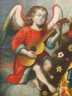 Peru, Colonial, Angels, Clip Art, Painting, Pintura, Art, School, Turkey