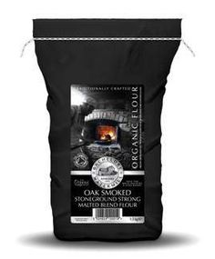Black packaging a la Bacheldre Watermill Flour