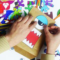Diese gruselig-lustigen Geschenktüten lassen sich mit unserer Vorlage super leicht selbstmachen. Lade sie Dir doch gleich runter auf blog.balloonas.com. Dort findest Du auch noch viele tolle Ideen rund um Deinen Kindergeburtstag. Schau doch gleich mal vorbei! #balloonas #kindergeburtstag #geschenke #giveaway #gastgeschenke #mitgebsel #monster #diy #basteln
