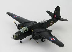 Hobbymaster 1:72 Boston MkV Diecast Model Airplane HA4208 This Boston MkV Greece (RAF 13 Sqn 1945) Diecast Model Airplane features working propellers. It is made by Hobbymaster and is 1:72 scale (approx. 29cm / 11.4in wingspan). General Background With war approaching America knew it would be called upon to aid their Allies so a new aircraft would need to be developed. Douglas Aircraft designer Ed Heinemann's DB-7/A-20 was chosen to be the new attack-bomber. The prototype flew in December…