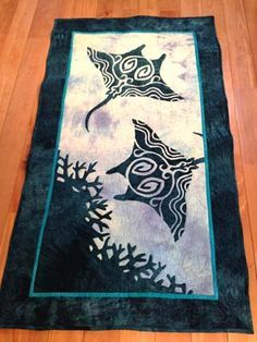 les raies manta style hawaiien de maeg maeda