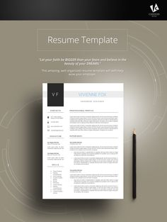 LEICH RESUME  This amazing, well-organized resume template will definitely wow your employer.