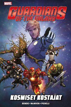 Marvel: Guardians of the Galaxy - Kosmiset kostajat. #sarjakuva #sarjis #supersankari