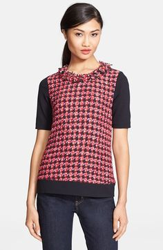 kate spade new york 'lawrence' print top available at #Nordstrom