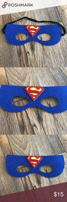 Superman Blue Superhero Masks for Kids Halloween Superman Blue Superhero Masks for Kids Halloween Costume Birthday Party Favor  Gender:unisex  Color: Blue  Great gift for Kids  Brand New, never used. Costumes Superhero