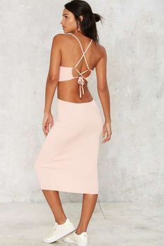 Mena Cutout Midi Dress