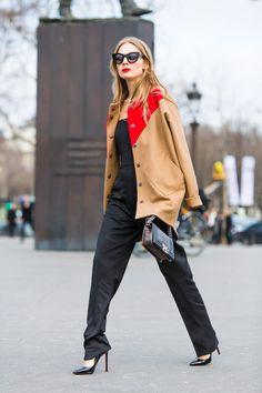 Street style à la Fashion Week de Paris 2014 : les plus beaux looks de rue d'hiver | Glamour