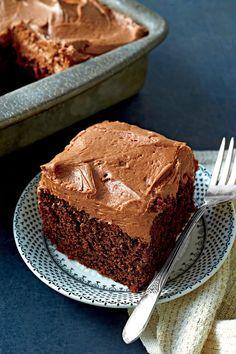 Fall Baking Recipes: Chocolate-Mayonnaise Cake