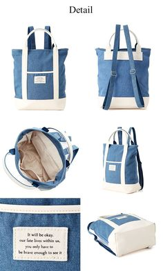 Simply collection convertible backpack tote this bag can be transformed from backpack to tote bag has a dedicated compartment for your computer up to 15 and fully padded inside the bag ideal even for books and files material canvas laptop pocket for Backpack Pattern, Tote Backpack, Backpack Tutorial, Tote Bags, Craft Bags, Linen Bag, Denim Bag, Fabric Bags, Handmade Bags