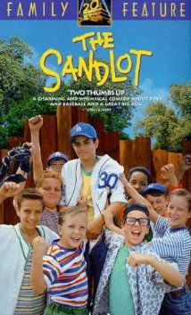 """""""The Sandlot"""" is a 1993 American sports comedy coming-of-age film directed by David M. The Sandlot tells the story of a group of young baseball players during the summer of See Movie, Movie List, Movie Tv, Movie Shelf, Movies And Series, Movies And Tv Shows, Cover Film, Baseball Movies, Bon Film"""