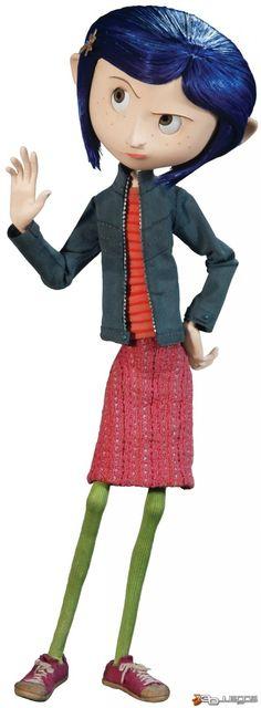 coraline movie stills - Ecosia Coraline Jones, Coraline Movie, Coraline Doll, Neil Gaiman, Stop Motion, Tim Burton, I Love Cinema, Laika Studios, Comic Costume