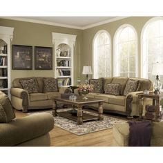 You'll love the Aveline Tan Fabric Sofa Set at Wayfair - Great Deals on all Furniture products with Free Shipping on most stuff, even the big stuff.
