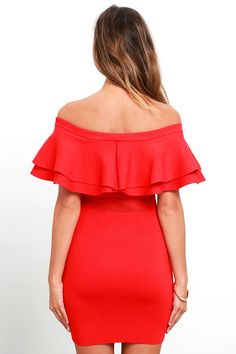 d8c904a29839 BB Dakota Off Shoulder Ruffle Dress | The Best 'See Now, Buy Now' Casual  Dresses | Pinterest | Dresses, Ruffle dress and Wrap Dress
