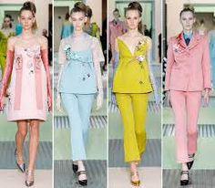 4 sets of Prada  2014 Spring collection