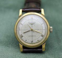 Vintage Longines 19as Automatic 17j Runs Wristwatch Men's Watch