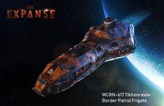 The Expanse Ships, The Expanse Tv, Spaceship Art, Spaceship Design, Fantasy Tv Shows, Sci Fi Fantasy, Expanse Tv Series, Dune Frank Herbert, Sci Fi Rpg