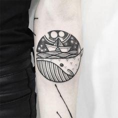 Hugo Tattooer mistura inspirações em old school, hachuras e pontilhismo para criar um estilo super original