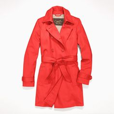 Short Trench Coat - Style F82378