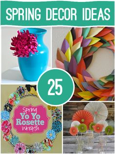 25 Spring Decor Ideas by Saved by Love