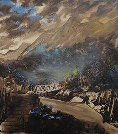 Olivier Masmonteil - Le Paysage Effacé | Galerie Dukan