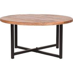 LABEL51 - Salontafel Dex 80x80x40 cm - Industrieel - Hout - Label51 -   HomeDeco.nl Table, Furniture, Home Decor, Products, Blue, Homemade Home Decor, Tables, Home Furnishings, Interior Design