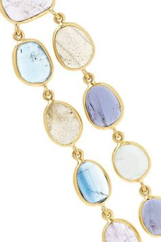 Pippa Small - 18-karat Gold Multi-stone Earrings - one size