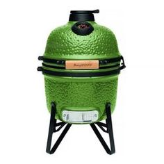 Berghoff 2415704 Barbacoa cerámica-Horno 33 cm Verde 41 x 36 x 57 cm Zara Home, Barbecue Grill, Ceramic Bbq, Pan Comido, How To Cook Burgers, Home By, Outdoor Oven, Charcoal Bbq, Green And Grey