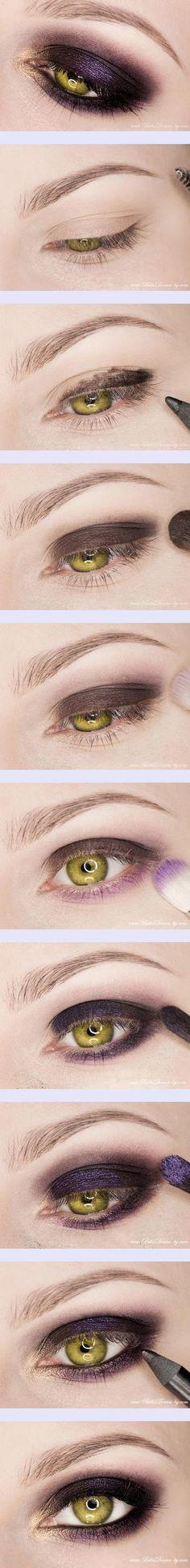 Pinspire - Paso a paso maquillaje morado Eye Makeup, Kiss Makeup, Makeup Tips, Hair Makeup, Makeup Tutorials, All Things Beauty, Beauty Make Up, Hair Beauty, Ruby Woo