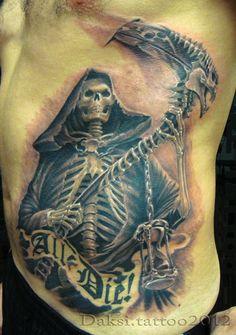 Death-Tattoo-Design-Ideas-On-Rib-Side-For-Men