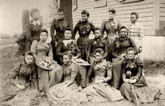 """Spelman Grads Class of 1892 Spelman, one of the nation's most highly regarded colleges for women, was founded by Sophia B. Packard and Harriet E. Giles, two friends who were commissioned in 1879 by the Woman's American Baptist Home Mission Society to study the living conditions """"among the freedmen of the South."""""""