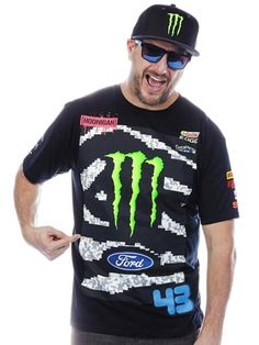 Hoonigan Monster Black Monster Ken Block Rally Division Official Team T-Shirt | Hoonigan Monster | FreestyleXtreme