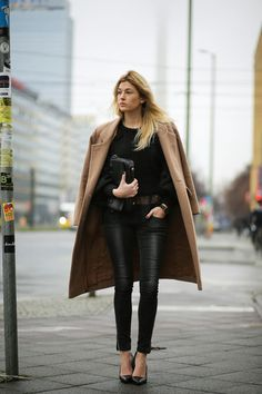 Coat: Ganni || Jeans: Anine Bing || Lace cami: By Malene Birger || Knit: Carin Wester || Pumps: All Saints || Clutch: Rag & Bone...