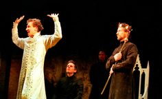 Ralph Fiennes and Linus Roache as Richard II and Bolingbroke, 2000.
