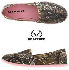Realtree camo women's slip-on shoes. Real Tree Camo, Country Girl Style, Country Girls, My Style, Camo Shoes, Camo Purse, Women's Shoes, Nike Shoes, Timberland