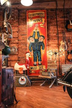 Antique Archaeology :: The Nashville Store :: American Pickers