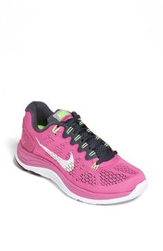 Love these!  Need them in black for sure!  Nike 'LunarGlide 5' Running Shoe (Women) available at #Nordstrom