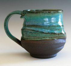 Interesting shape, texture and glaze