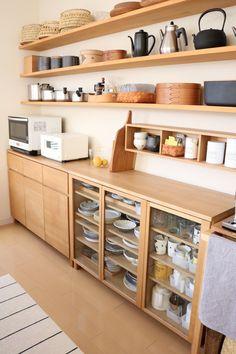 キッチン *食器棚の買い替え*   Ducks Home - 楽天ブログ