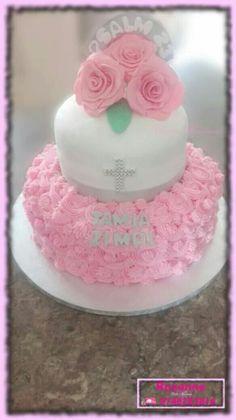 Aannemings koek / First Communion Cake Communion Cakes, First Communion, Cake Pops, Madness, Cupcakes, Desserts, First Holy Communion, Tailgate Desserts, Cupcake Cakes