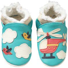 48d393162e043 Chaussons bébé cuir souple fourrés helicoptere - Chaussons bebe cuir - chaussons  bébé en cuir - chaussons en cuir souple