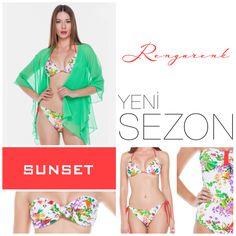 Rengarenk olmaya hazırmısınız... www.e-sunset.com  #sunset #bikini #mayo