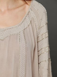 Free People Beaded Wavelengths Tunic at Free People Clothing Boutique