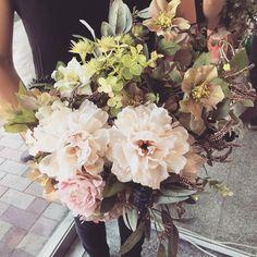 #minietmaxi #flower #wedding #resort wedding #bouquet  先日お納めしたブーケ。これ、アートフラワーなんです(^^)海外挙式のお客様用に。