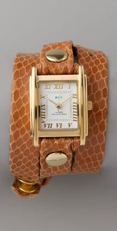 Not that I need a new watch, but I love these La Mer wrap watches!