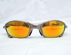 cfe62f82a Details about Oakley JULIET Plasma/Fire Iridium X-Metal Serialized  Sunglasses