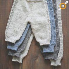 Modèles pour bébés à tricoter masculins - Pantalons bébé Modèles à tricoter