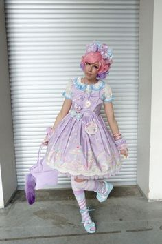http://lunie-chan.livejournal.com/41846.html in Angelic Pretty Milky Planet JSK.