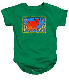 Cats For Kids Apparel and Gifts Cat Art baby bodysuit by #dorahathazi For babies, for teens, cat painting, for girls, cat, art, cats, whimsical, bindi, lily, quirky, colorful, gatos, kitty, kitten, feline fantasy, pet, pets, painting, art, watercolor, beautiful, artwork, sweet, funny, meow, pet, pets, playful, bright, lovely, lovable, catlover, catlovers, cute cat, cute kitty, colorful cat, cat and flower, cat with flowers, sweet cat, lovely cat, nouveau, Dora Hathazi Mendes